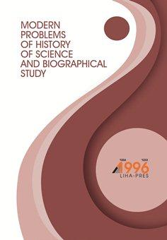 Cover for MODERN PROBLEMS OF HISTORY OF SCIENCE AND BIOGRAPHICAL STUDY