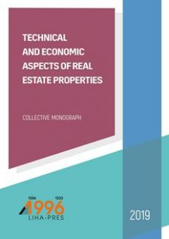 Cover for TECHNICAL AND ECONOMIC ASPECTS OF REAL ESTATE PROPERTIES